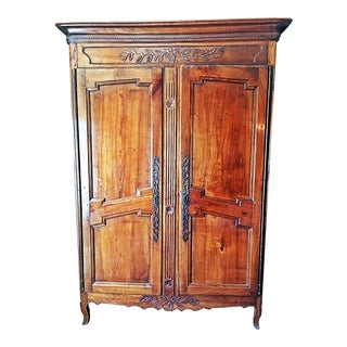 18th C. French Country Armoire