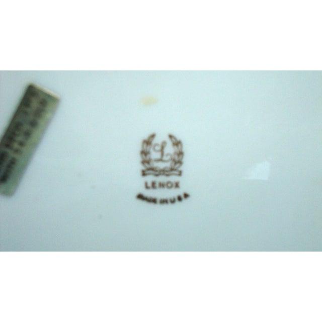 Image of Lenox 24kt Gold Porcelain Ornate Dolphin Bowl