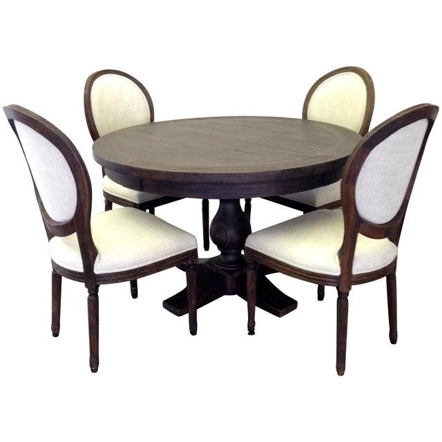 Image of Restoration Hardware French Pedestal Dining Set