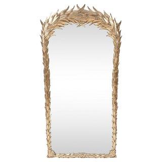 Venetian Burnished Gold Leaf Mirror