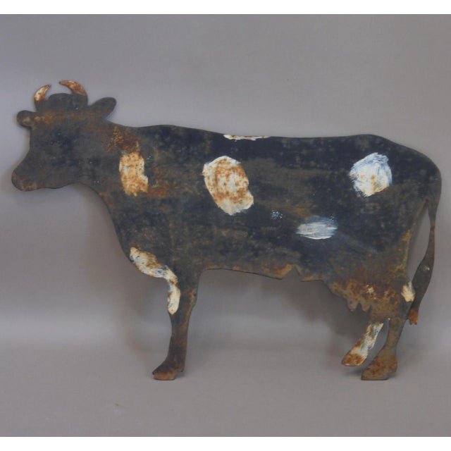 Image of Painted Cow Sign (#12-68)