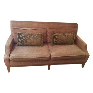 Custom Designed Small Scale Sofa & Pillows