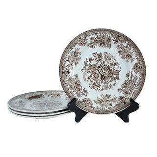 Rorstrand Asiatic Pheasants Plates - Set of 4