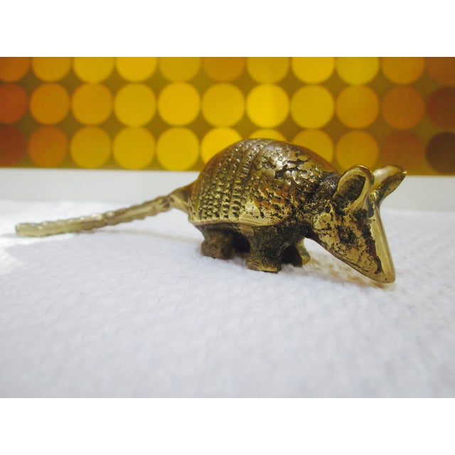 Solid Brass Anteater Paperweight Figurine - Image 8 of 8