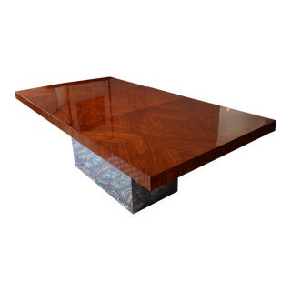 Milo Baughman Rosewood Dining Table
