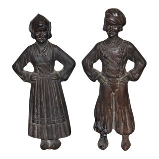 Hansel and Gretel Figural Andirons