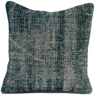 Vintage Overdyed Turquoise Pillowcase