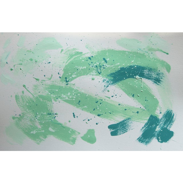 Image of Spring Gala Abstract Painting by Cleo