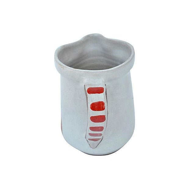 Image of Hand-Painted Italian Pitcher