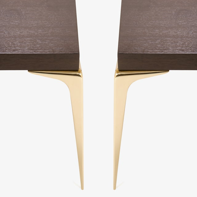 Customizable Colette Occasional Tables in Ebony by Montage, Pair - Image 3 of 7