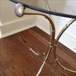 Image of Vintage Faux Bamboo Accent Table