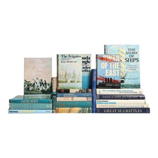 Under Sail Nautical Book Collection - Set of 20