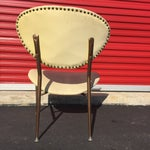 Image of Mid-Century Modern Metal Framed Chair