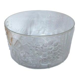 Vintage Iittala Oiva Toikka Flora Bowl