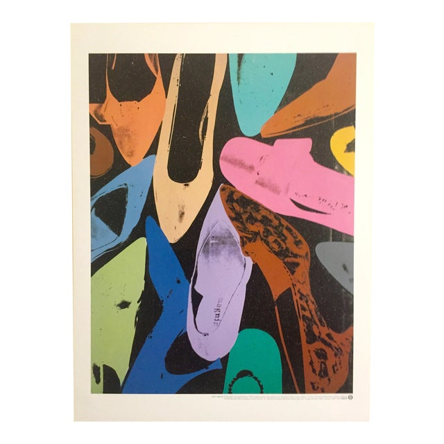 """Andy Warhol """"Diamond Dust Shoes"""" Offset Lithograph - Image 1 of 9"""