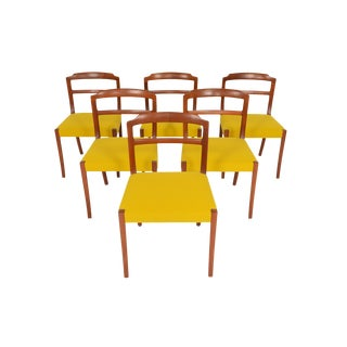 Ole Wanscher Teak Dining Chairs - Set of 6