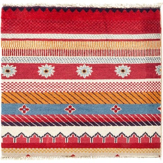 "Lori, Hand Knotted Area Rug - 2' 1"" x 2' 2"""