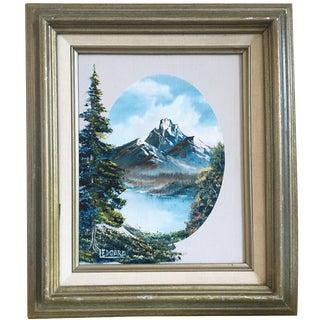 Vintage Nature Oil Painting