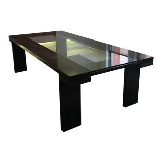 Moura Starr Ramses Wood and Crystal Dining Table