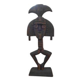 Hand Carved Tribal Sculpture