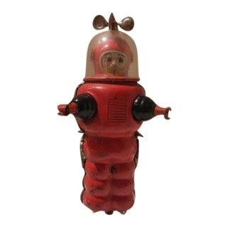 Vintage Mechanical Toy Astronaut