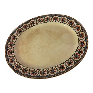 Old Decorative English Minton Serving Platter