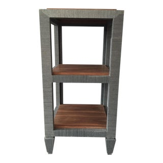 Bungalow 5 Grasscloth Side Table