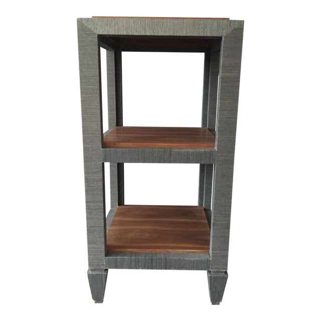 Image of Bungalow 5 Grasscloth Side Table