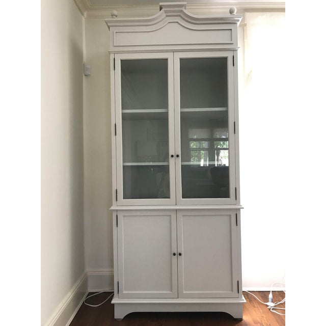 Tall Oly Swedish Style Glass Door Cabinet - Image 2 of 10