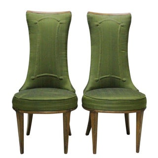 Mid Century Fireside Chairs - Pair