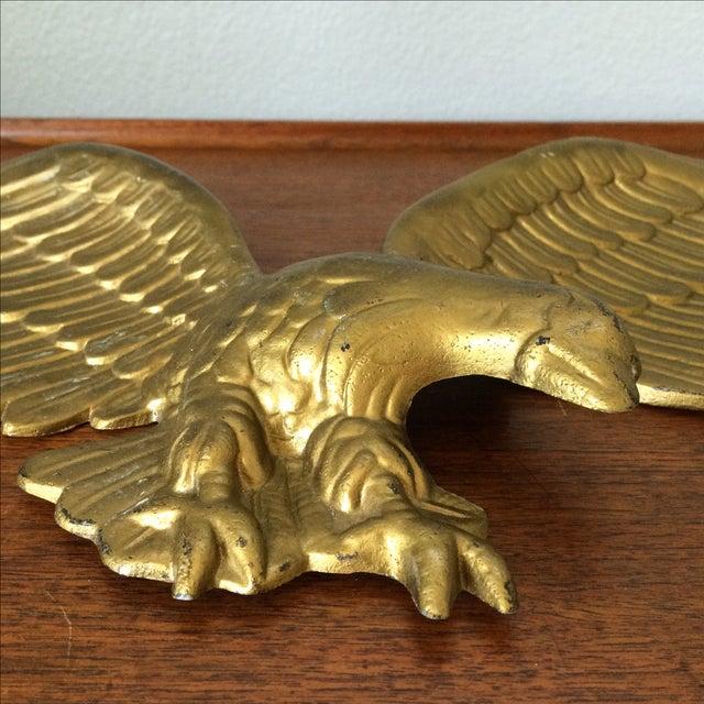 Vintage Gold Metal Eagle - Image 4 of 9