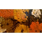 """Image of Mid Century Floral Painting - Signed """"Clare"""""""
