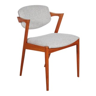 Kai Kristiansen Teak Dining Chairs, Set of FOUR