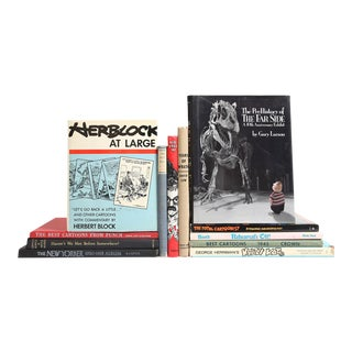 Cartoons of the Twentieth Century Book Collection - Set of 12