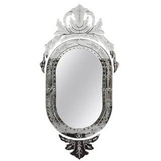 1930s Venetian Crest Mirror
