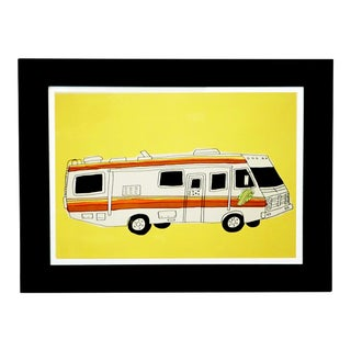"Marz jr. Pop Culture ""Breaking Bad"" Van Print"