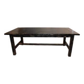 Farm Style Distressed Dining Table