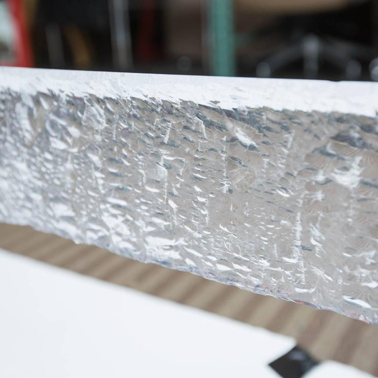 Large Custom Lucite Coffee Table Base   Image 7 Of 10