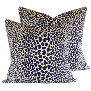Iconic Leopard Pillows - a Pair
