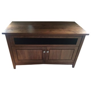 Furniture by Dovetail Walnut TV Console