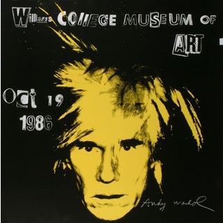 Andy Warhol-Self Portrait-1986 Poster