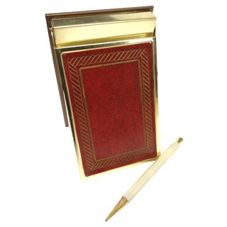 Park Sherman Vintage Magic Memo Pad & Pen