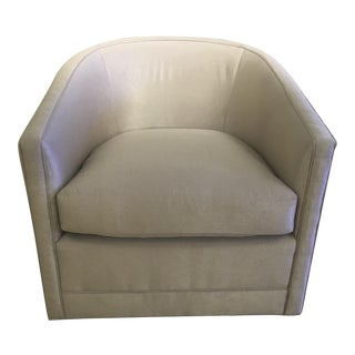 Curved Swivel Tub Chair
