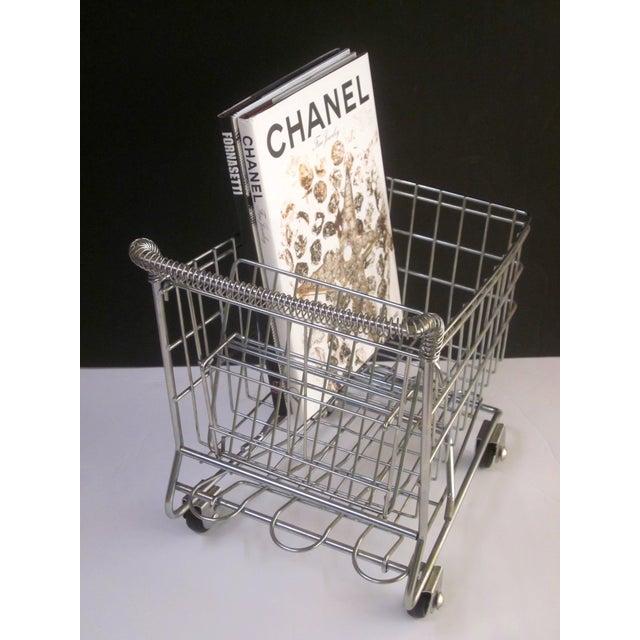 Vintage Pop Art Shopping Cart - Image 4 of 9