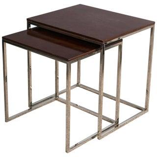"Ralph Lauren ""Brook Street"" Nesting Tables - Pair"