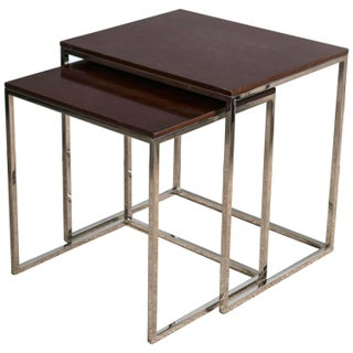 "Ralph Lauren ""Brook Street"" Nesting Tables - Pair"