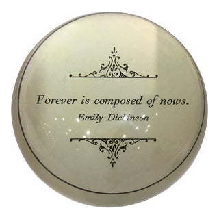 Sugar Boo Designs Paperweight With Quote