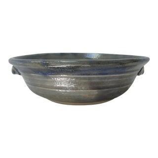 Glazed Stoneware Bowl
