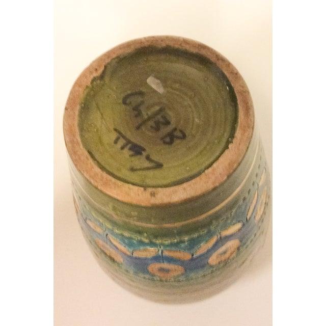 Mid Century 1960's Bitossi Ceramic Vase - Image 4 of 6