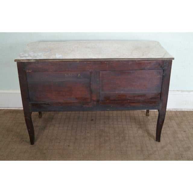 Antique 19th C. French Louis XV Commode Chest - Image 4 of 10